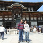 Sightseeing in Nara with Sylvain