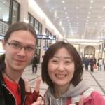Ethan took me to a nice soba noodle! (Osaka)