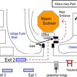 Direction to Nippon Budokan