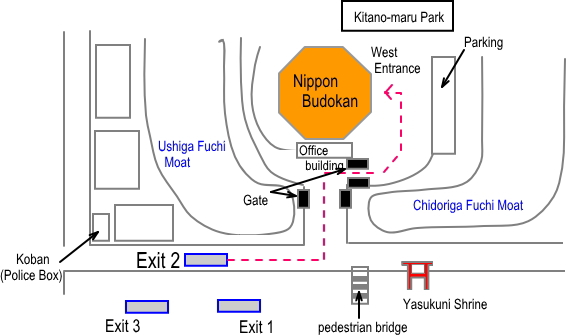 BudokanDirectionMap