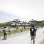 Osaka Castle with Ari!